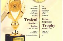 Trofeul Salariati – Reghin – 2012