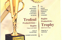 Trofeul Productivitate – Reghin – 2012