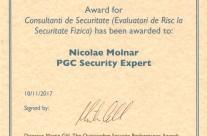 Award consultanti de securitate