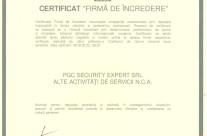 Certificat firma de incredere
