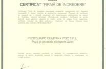 Certificat firma de incredere 2