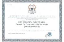 Certificare Firma de Incredere 2019