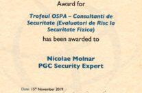 Trofeu OSPA 2019